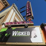 Wicked at the Orpheum.