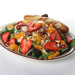 fresh made salads every time at Josephs
