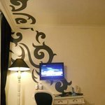 TV Flat,,art decoration