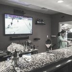 Large TVs for all Boston sports