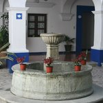 Fountain at the entrance