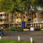 Front of Alassio Apartments Palm Cove