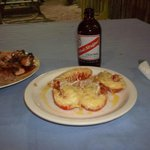 Lobster and a Red Stripe :)