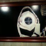 Nice picture of Black Stone in the lobby