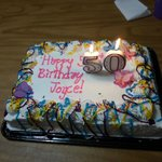 birthday cake from party that was in Horseshu Resort