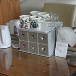 Selection of teas in the room
