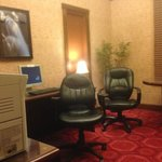 Nice business center at Hotel Beresford