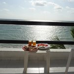 Breakfast with a view - 3rd floor balcony