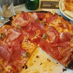 Meat Cravers thin crust pizza
