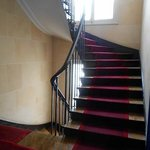 Lovely winding Staircase