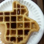 Gotta love the Texas-shaped waffle maker!