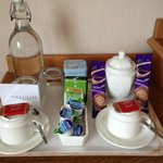 Tea/Hot Chocolate Tray in room
