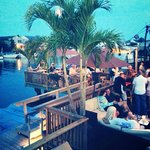 Enjoy outdoor waterfront dining. Live Music on the deck Every weekend.