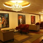 Artworks displayed in the Lobby