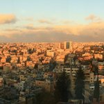 view of Amman from room