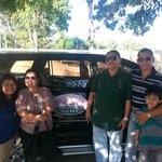 with the owner, Mr. Henry Gabo, who personally drove us to the airport :)