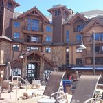 Right on ski slope, nice rooms, loads of activities and entertainment, good location - what else