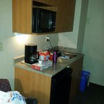 Small but sufficient kitchenette