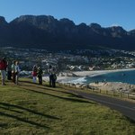 Our first sight of Camps Bay