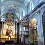 Lovely baroque nave