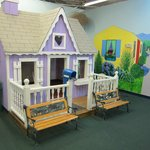 A lifesize dollhouse