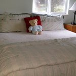 King bed in the Orchard Suite