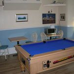 Front Dining Area with Pool Table