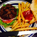We heard the burgers were great and they are! Awesome French fries too!