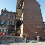 The historic Waddell Hotel in Port Hope, Ontario