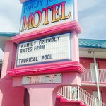 Foto van Fawlty Towers Resort Motel