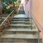These steps are a great way to get your exercise in. Beautiful walk to the beach below. These st