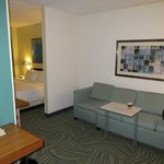 Sitting area, room 410