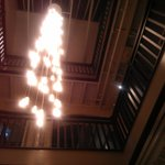 Look up from lobby