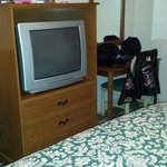 Old outdated box tv
