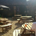 Lower patio..a real suntrap