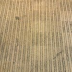 Management, please clean your carpets