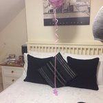 Room 5, we arrived on my birthday & Sue had gone out of her way to get me a birthday balloon!!