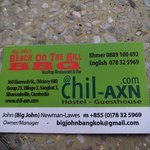 Φωτογραφία: Big John's Chil-axn Hostel