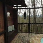 The view and pleasant wind chimes