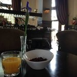 Breakfast in the bar/lobby