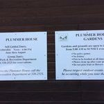 Plummer House Self Guided Tours