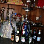 Enjoy your hookah inside or out on the patio