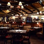 Interior of Hickory's Longhorn Steakhouse