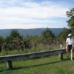 View from Red Spruce Mountain on the Scenic Highway