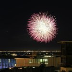 New Years Eve Fireworks from Terrace