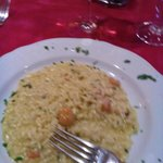 Risotto gamberi e curry