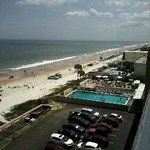 View from 7th fl balcony of Maverick Hotel, Ormand Bch.