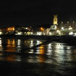 Cromer town at night - taken from the pier
