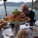 Great meal at Cinque Terre