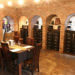 You can tasts or dine in Rosendal's cellar